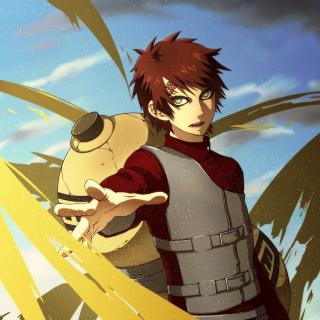 Gaara Kazekage Naruto - Obrázkek zdarma pro iPad