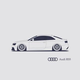 Audi RS 5 Advertising - Obrázkek zdarma pro iPad mini 2