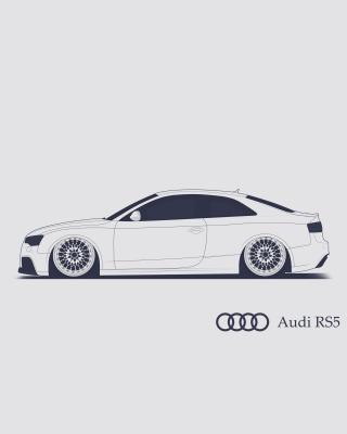 Audi RS 5 Advertising - Obrázkek zdarma pro 480x854
