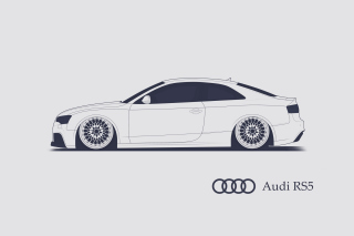 Kostenloses Audi RS 5 Advertising Wallpaper für Android, iPhone und iPad