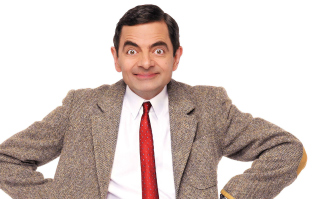 Rowan Atkinson as Bean Background for Android, iPhone and iPad
