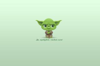 Yoda - Obrázkek zdarma pro 1400x1050