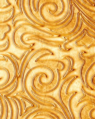 Gold sprigs pattern - Obrázkek zdarma pro Nokia X3