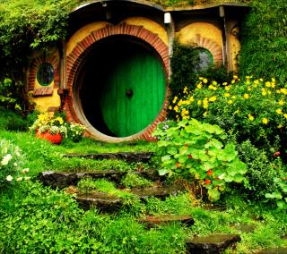 Hobbit House - Obrázkek zdarma pro iPad Air