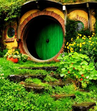 Hobbit House - Obrázkek zdarma pro 360x400