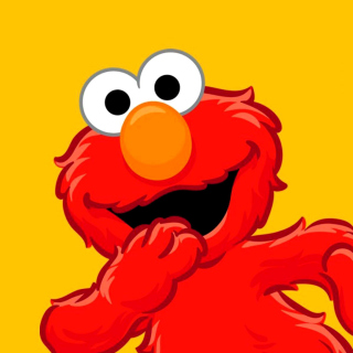 Elmo Muppet - Obrázkek zdarma pro iPad mini 2