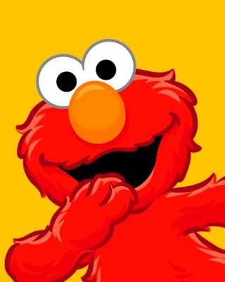Elmo Muppet - Obrázkek zdarma pro 360x400
