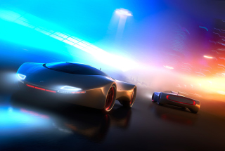 Neon Car Wallpaper for Android, iPhone and iPad