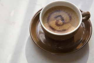 Free @ Coffee Picture for Android, iPhone and iPad