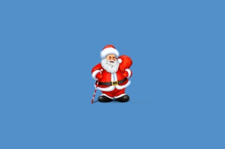 Santa Claus Illustration Background for Android, iPhone and iPad