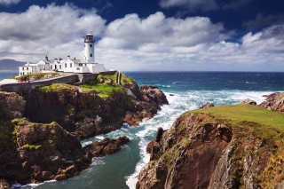 Free Fanad Ireland Lighthouse Picture for Android, iPhone and iPad
