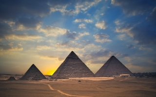 Free Egypt Pyramids Picture for Android, iPhone and iPad