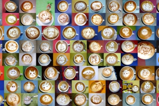 Coffee Art For Coffee Lovers Picture for Android, iPhone and iPad