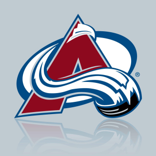 Colorado Avalanche Grey Logo - Obrázkek zdarma pro iPad 3