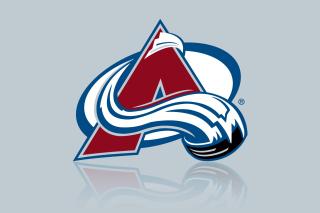 Colorado Avalanche Grey Logo - Obrázkek zdarma pro 480x320