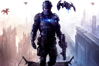 Killzone Shadow Fall Background for Android, iPhone and iPad
