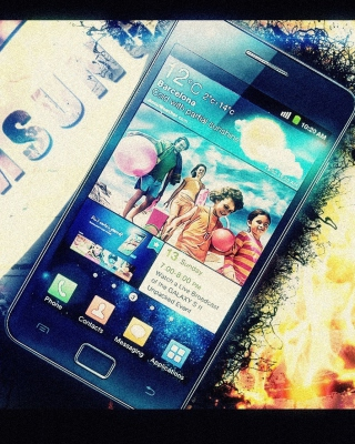 Samsung Galaxy S2 - Obrázkek zdarma pro Nokia Asha 202