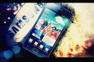 Samsung Galaxy S2 - Obrázkek zdarma pro Nokia Asha 205