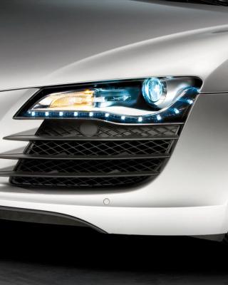 Audi R8 LED Headlights Lamp - Obrázkek zdarma pro 480x640