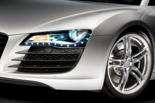 Audi R8 LED Headlights Lamp - Obrázkek zdarma pro Android 600x1024