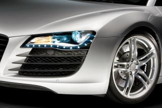 Audi R8 LED Headlights Lamp - Obrázkek zdarma pro Samsung Galaxy Tab S 8.4