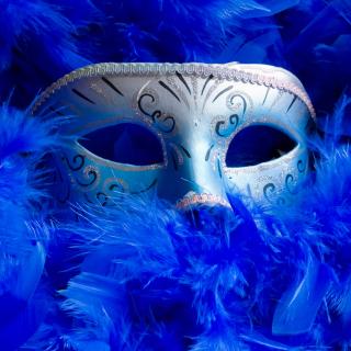 Mask And Feathers - Obrázkek zdarma pro iPad mini 2