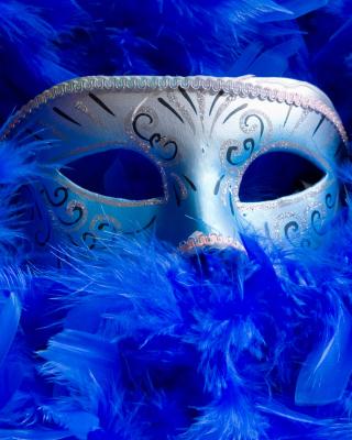 Mask And Feathers - Obrázkek zdarma pro Nokia C2-02