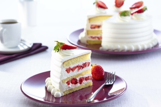 Fresh Strawberry Cake - Obrázkek zdarma pro Widescreen Desktop PC 1920x1080 Full HD