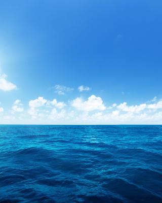 Ocean in Tropics - Obrázkek zdarma pro Nokia Asha 203