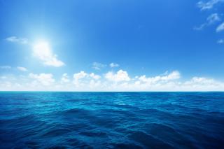 Ocean in Tropics - Obrázkek zdarma pro 480x320