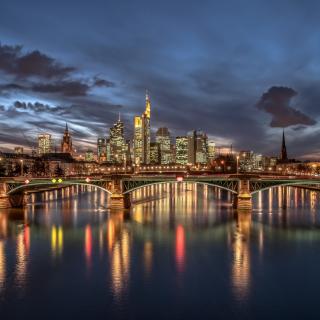 Frankfurt - Obrázkek zdarma pro 1024x1024