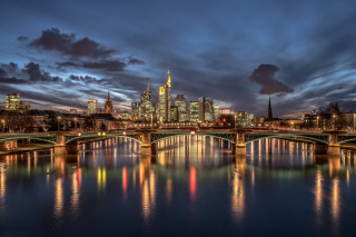 Frankfurt Background for Android, iPhone and iPad
