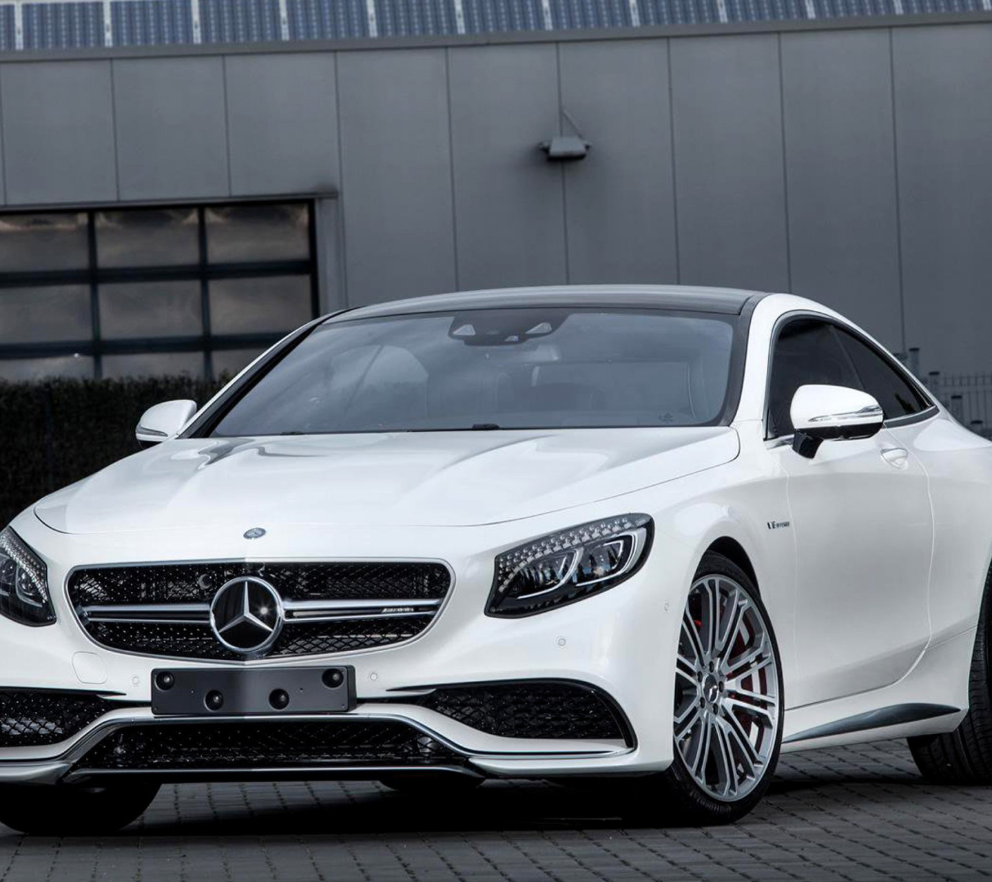 Download Wallpapers Mercedes Benz S63 Amg 2018 White: Mercedes-Benz S63 AMG Wallpaper For Samsung Galaxy A5