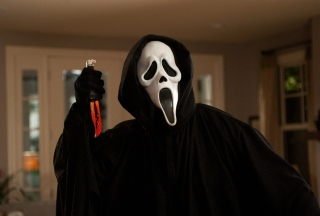 Ghostface In Scream Wallpaper for Android, iPhone and iPad