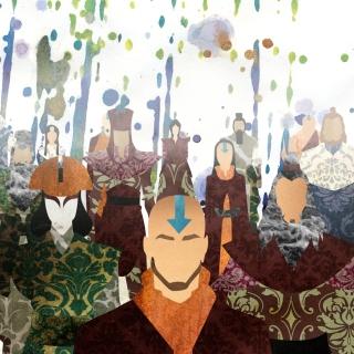 Avatar The legend of Korra - Obrázkek zdarma pro iPad mini