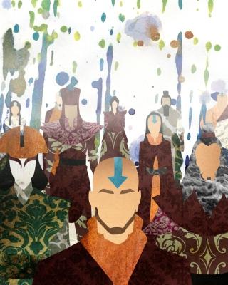 Avatar The legend of Korra - Obrázkek zdarma pro Nokia C5-05