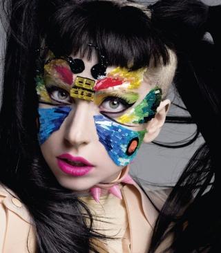 Lady Gaga - Obrázkek zdarma pro 768x1280