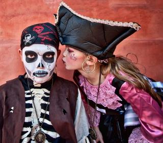 Kids In Carnival Costumes - Obrázkek zdarma pro 128x128