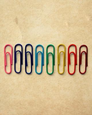 Paper Clips - Obrázkek zdarma pro Nokia C5-05