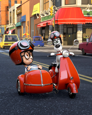 Mr Peabody & Sherman Picture for LG 230 Simple Flip