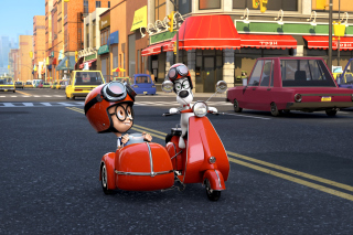 Free Mr Peabody & Sherman Picture for Sony Ericsson XPERIA X8