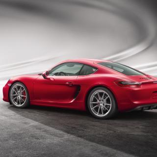 Porsche Cayman GTS - Obrázkek zdarma pro iPad 2