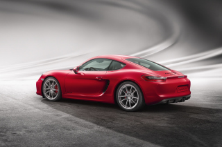 Free Porsche Cayman GTS Picture for Android, iPhone and iPad