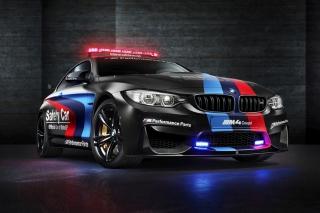 BMW M4 Coupe Police - Obrázkek zdarma pro 1280x1024