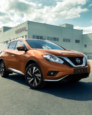 Nissan Murano 2017 - Obrázkek zdarma pro 352x416