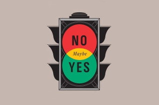 Maybe Yes Maybe No Background for Android, iPhone and iPad