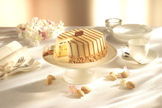 Marzipan cake Wallpaper for Android, iPhone and iPad