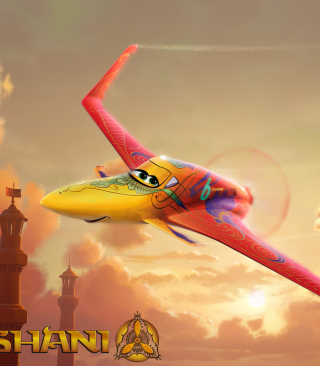 Disney Planes - Ishani - Obrázkek zdarma pro 480x640