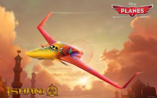 Disney Planes - Ishani - Obrázkek zdarma pro 480x360
