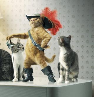 Puss in Boots - Obrázkek zdarma pro 2048x2048
